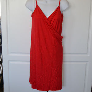 RED Beach Pool Swimsuit Coverup Dress  Wrap NEW